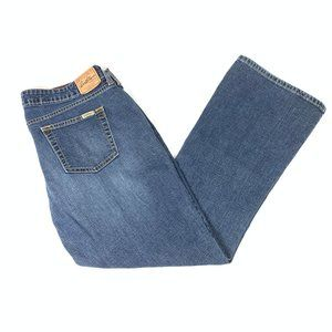 Levi's Low Rise Boot Cut Stretchy Jeans Size 16